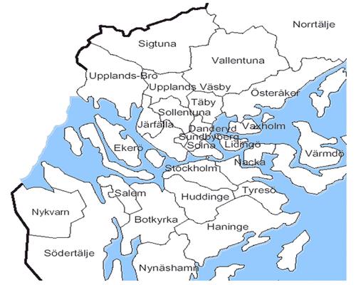 Provincia Estocolmo