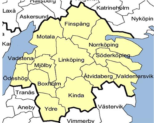 Provincia  Ostergotland