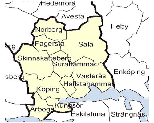 Provincia  Vastmanland